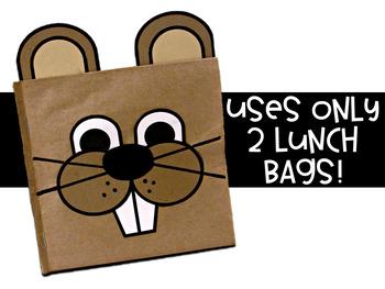 Groundhog Day Paper Bag Book