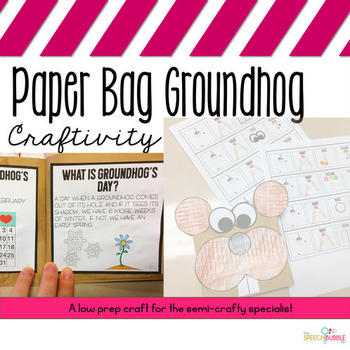 Groundhog's Day Paper Bag Book: An Adaptable Craftivity
