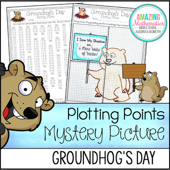 Groundhog's Day Plotting Points - Mystery Picture