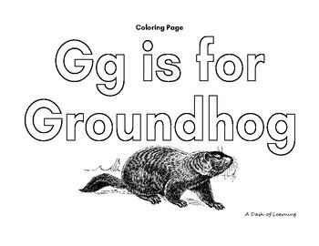Groundhog's Day Preschool Freebie