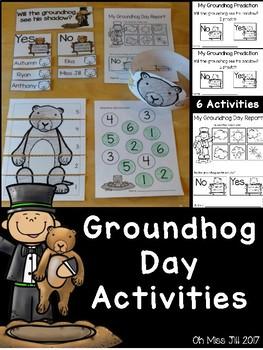 Groundhog's Day FREE Printable Activities