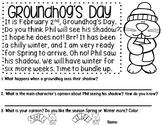 Groundhog's Day Reading Comprehension