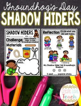 Groundhog's Day STEM: Shadow Hiders!