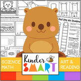 Groundhog's Day Science, Math, Art and Reading Theme Pack.