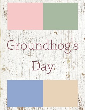 Groundhog's Day Toddler Theme