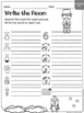 Groundhog Day -Write the Room & Writing Prompts {Print on
