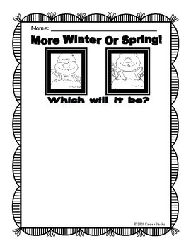 Groundhog's Day Writing Prompts