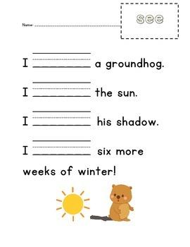 "Groundhog ""see"" page"