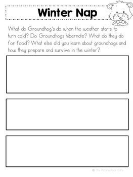 Groundhogs Beginning Research Report