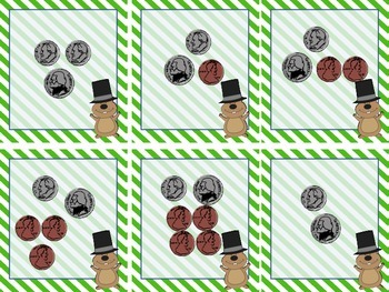 Groundhog's Day 1st Grade Math Pack (8 CCSS Centers)