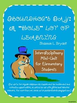 Groundhog's Day Enrichment Unit