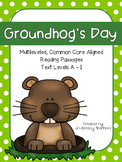 Groundhog's Day!: CCSS Aligned Leveled Reading Passages and Activities