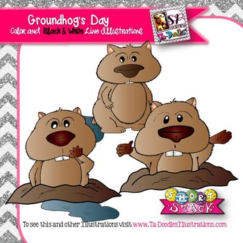 Groundhog's Day Clip Art