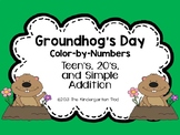 Groundhog's Day Color-by-Numbers