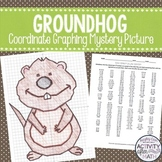 Groundhog's Day Coordinate Graphing Picture