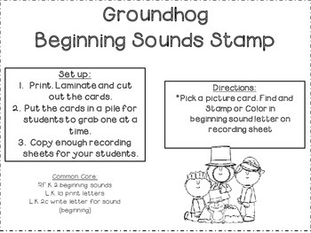 Groundhog's Day FREEBIE