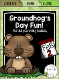Groundhog's Day Fun! Math & Literacy Activities