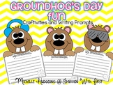 Groundhog's Day Fun {craftivities and writing prompts}