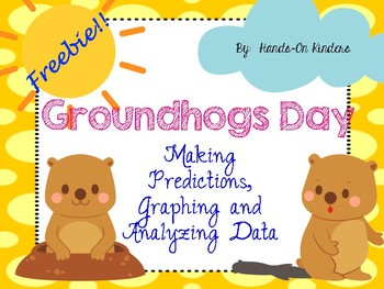 Groundhogs Day Graphing Freebie