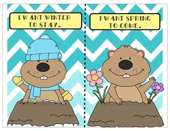 Groundhog's Day Graphing-Winter or Spring