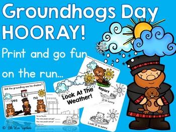 Groundhogs Day HOORAY!