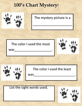 Groundhog's Day Math and Sight Word Practice