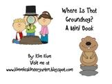 Groundhog's Day Mini Book