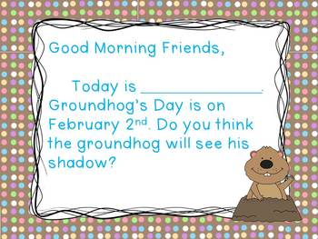 Groundhog's Day - Morning Messages