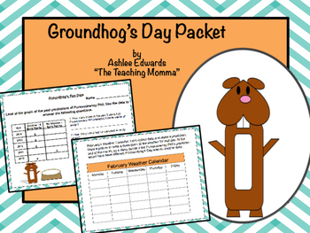 Groundhog's Day Packet
