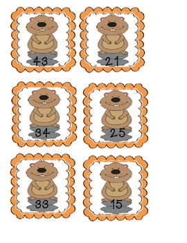 Groundhog's Day Place Value