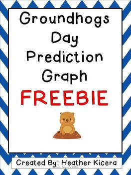 Groundhogs Day Prediction Graph FREEBIE