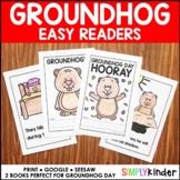 Groundhog Day Reader ● Print, Seesaw, Google