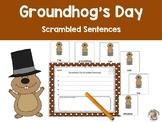 Groundhog's Day Scrambled Sentences