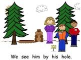 Groundhog's Day Sight Word Reader