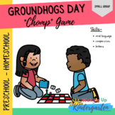 Groundhogs Day - Small Group Game- Uppercase & Lowercase Letters