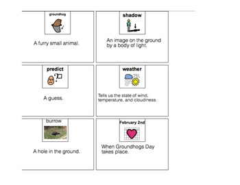 Groundhog's Day Speech-Language Therapy (autism/language disorders)