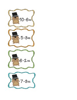 Groundhog's Day Subtraction