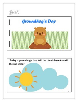Groundhog's Day Work Packet