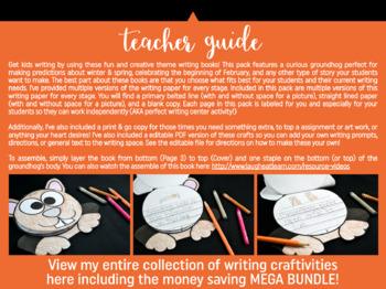 Groundhog Writing Craft