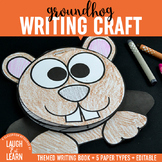 Groundhogs Day Writing Craftivity
