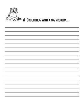 Groundhog's Day Writing Prompts and Acrostic ---Teaching Packet