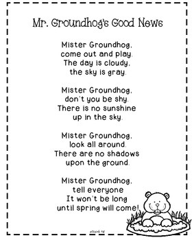 Groundhog's Day for Little Learners