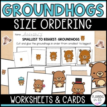Groundhogs: From Smallest to Largest