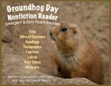 Groundhogs- Nonfiction Book for Emergent & Early Fluent Readers