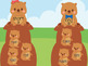 Groundhogs Short and Long Vowels (Great for Google Classroom!)