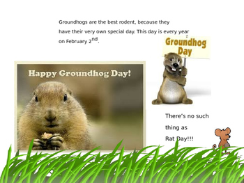 Groundhogs are the Best Rodents Ever---an Opinion Story