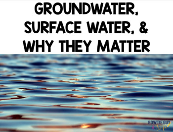 Groundwater and Surface Water powerpoint