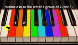 Group 4: Color Coded Kid songs for boomwhackers, piano, ke