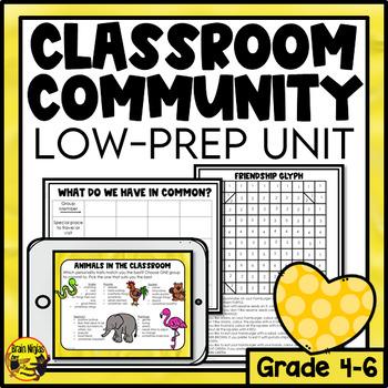 Group Activities Unit- Communication, Teamwork & Classroom Community