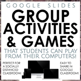 Group Activities and Games for Google Classroom